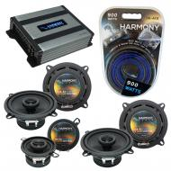 Compatible with Lexus GX470 03-08 OEM Speaker Replacement Harmony (2) R5 R35 & Harmony HA-A40...