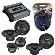 Compatible with Lexus RX300 99-03 OEM Speaker Replacement Harmony (2) R65 R35 & Harmony HA-A4...