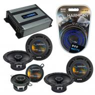 Compatible with Lexus RX330 04-06 OEM Speaker Replacement Harmony (2) R65 R35 & Harmony HA-A4...