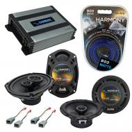 Compatible with Lincoln Mark VII 84-88 OEM Speaker Replacement Harmony R65 R69 & Harmony HA-A...