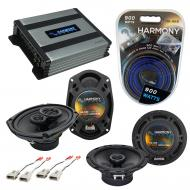 Compatible with Lincoln Mark VII 89-92 OEM Speaker Replacement Harmony R65 R69 & Harmony HA-A...