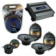 Compatible with Lincoln Mark VIII 96-98 OEM Premium Speaker Replacement Harmony Upgrade & Har...