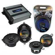 Compatible with Lincoln Mark VIII 96-98 OEM Speaker Replacement Harmony Replacement & Harmony...