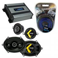 Compatible with Lincoln Mark VIII 96-98 Speaker Replacement Kicker DS Series & Harmony HA-A40...