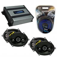 Compatible with Lincoln Blackwood 01-03 Speaker Replacement Kicker (2) DSC68 & Harmony HA-A40...