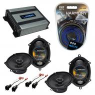 Compatible with Mazda Mazda3 2004-2009 OEM Speaker Replacement Harmony (2) R68 & Harmony HA-A...