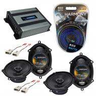 Compatible with Mazda MX6 1993-1997 Factory Speaker Replacement Harmony (2) R68 & Harmony HA-...