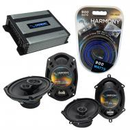Compatible with Mazda Prot??g?? 01-04 OEM Speaker Replacement Harmony R68 R69 & Harmony HA-A4...