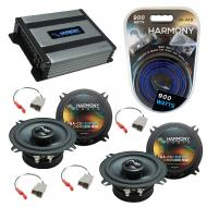 Compatible with Mazda RX7 1986-1989 OEM Speakers Replacement Harmony (2) C5 & Harmony HA-A400.4