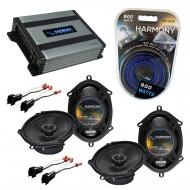 Compatible with Mazda Tribute 2001-2006 OEM Speaker Replacement Harmony (2) R68 & Harmony HA-...