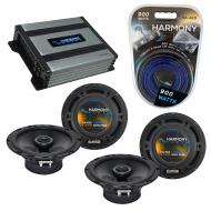 Compatible with Mercedes SLK-230/ 320 98-04 OEM Speaker Replacement Harmony (2) R65 & Harmony...