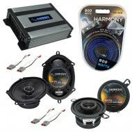 Compatible with Mercury Cougar 83-88 OEM Speaker Replacement Harmony R35 R68 & Harmony HA-A40...