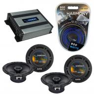 Compatible with Mercedes C-Class 05-07 OEM Speaker Replacement Harmony (2) R65 & Harmony HA-A...