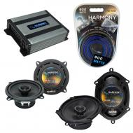 Compatible with Mercury Lynx 1981-1987 OEM Speaker Replacement Harmony R5 R68 & Harmony HA-A4...