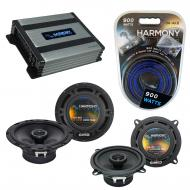 Compatible with Mercedes C-Class 94-04 OEM Speaker Replacement Harmony R65 R5 & Harmony HA-A4...