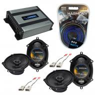 Compatible with Mercury Sable 1996-1999 OEM Speaker Replacement Harmony (2) R68 & Harmony HA-...