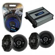 Compatible with Mercedes CL-Class 98-01 Speaker Replacement Kicker (2) DSC65 & Harmony HA-A40...