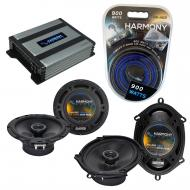 Compatible with Mercury Tracer 97-99 OEM Speaker Replacement Harmony R65 R68 & Harmony HA-A40...