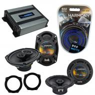 Compatible with Mini Cooper 2002-2006 OEM Speaker Replacement Harmony R65 R69 & Harmony HA-A4...