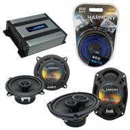 Compatible with Mini Cooper Coupe 07-14 OEM Speaker Replacement Harmony R5 R69 & Harmony HA-A...