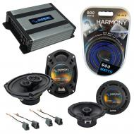 Compatible with Mitsubishi 3000GT 91-99 OEM Speaker Replacement Harmony R65 R69 & Harmony HA-...