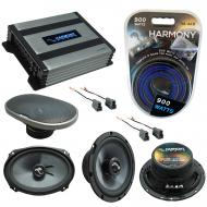 Compatible with Mitsubishi 3000GT 91-99 OEM Speakers Replacement Harmony C65 C69 & Harmony HA...