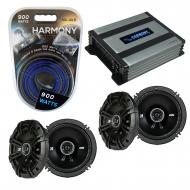 Compatible with Mercedes CLK-Class 04-04 Speaker Replacement Kicker (2) DSC65 & Harmony HA-A4...