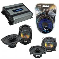 Compatible with Mitsubishi Diamante Wagon 93-95 OEM Speaker Replacement Harmony Speakers & Ha...