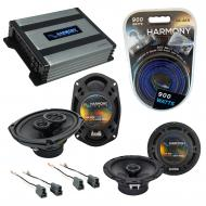 Compatible with Mitsubishi Eclipse 95-05 OEM Speaker Replacement Harmony R65 R69 & Harmony HA...