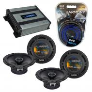 Compatible with Mercedes CLK-Class 05-08 OEM Speaker Replacement Harmony (2) R65 & Harmony HA...