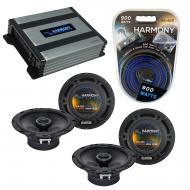 Compatible with Mitsubishi Endeavor 04-11 OEM Speaker Replacement Harmony (2) R65 & Harmony H...
