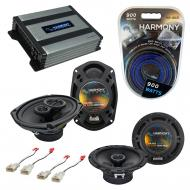 Compatible with Mitsubishi Galant 04-13 OEM Speaker Replacement Harmony R65 R69 & Harmony HA-...