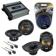 Compatible with Mitsubishi Galant 99-03 OEM Speaker Replacement Harmony R65 R69 & Harmony HA-...