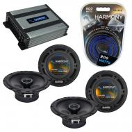 Compatible with Mitsubishi Lancer 02-07 OEM Speaker Replacement Harmony (2) R65 & Harmony HA-...
