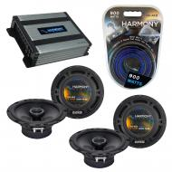 Compatible with Mitsubishi Montero 97-05 OEM Speaker Replacement Harmony (2) R65 & Harmony HA...