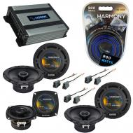 Compatible with Mitsubishi Montero Sport 97-04 OEM Speaker Replacement Harmony Speakers & Har...