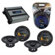 Compatible with Mitsubishi Outlander 03-16 OEM Speaker Replacement Harmony (2) R65 & Harmony ...