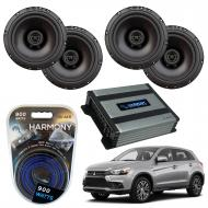 Compatible with Mitsubishi Outlander 2014-2019 Factory Speaker Replacement Package R65 Harmony HA...