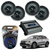 Compatible with Mitsubishi Outlander 2014-2019 Premium Speaker Replacement Package C65 Harmony HA...