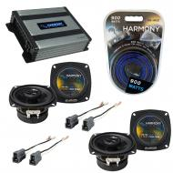 Compatible with Mitsubishi Precis 87-89 OEM Speaker Replacement Harmony (2) R4 & Harmony HA-A...