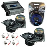Compatible with Nissan 240SX 1989-1994 OEM Speakers Replacement Harmony (2) C46 & Harmony HA-...