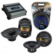 Compatible with Nissan Armada 2004-2015 OEM Speaker Replacement Harmony R69 R65 & Harmony HA-...