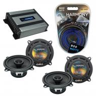 Compatible with Nissan Axxess Van 1989-1990 Speaker Replacement Harmony (2) R5 & Harmony HA-A...
