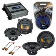 Compatible with Nissan Frontier 1998-2004 OEM Speaker Replacement Harmony R65 R5 & Harmony HA...