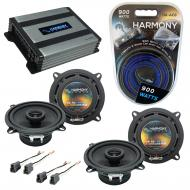 Compatible with Mitsubishi Mirage 85-92 OEM Speaker Replacement Harmony (2) R5 & Harmony HA-A...