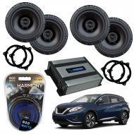 Compatible with Nissan Murano 2015-2018 Factory Speaker Replacement Harmony R65 Harmony HA-A400.4