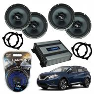 Compatible with Nissan Murano 2015-2018 Premium Speaker Replacement Harmony C65 Harmony HA-A400.4