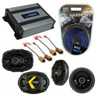 Compatible with Nissan Pathfinder S 08-12 Speaker Replacement Kicker DS Series & Harmony HA-A...