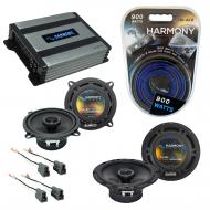 Compatible with Mitsubishi Mirage 97-02 OEM Speaker Replacement Harmony R5 R65 & Harmony HA-A...