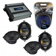 Compatible with Nissan Quest 1993-2006 Factory Speaker Replacement Harmony (2) R68 & Harmony ...